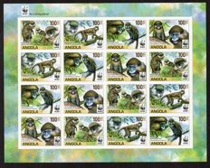 Thematic - Fauna collection with series souvenir sheets and mini sheets..