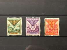 The Netherlands 1925 - Syncopated Perforation children's stamps - NVPH R71/R73