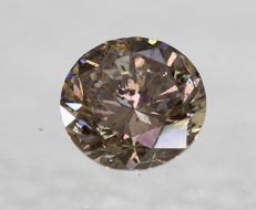 Diamond – 0.79 Fancy Intense Brown / SI3 ** No Reserve **