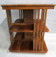 Book mill - Mahogany - eight compartments, Netherlands, 1990s