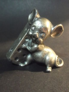Pewter Miniature Singing Mouse