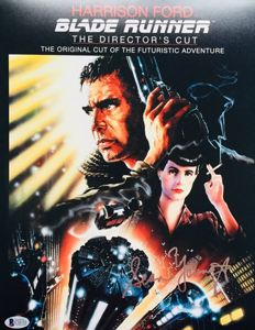 Blade Runner / Sean Young - Authentic Signed Autograph in Amazing Big Poster ( 28 x 35 cm ) - With Certificate of Authenticity Beckett