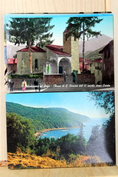 Italy, 500 X, collection of various places and points of interest - 1950/1990
