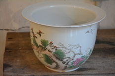 Republic period cachepot- China - early 20th century