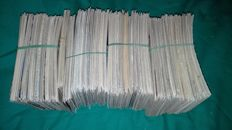 Lot of 825 French postcards, all small size
