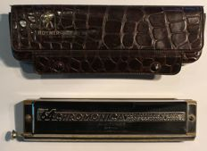 Harmonica - M. Hohner 280C Chromonica 280/64 4-Octave Harmonica Armonica - Professional Model. Germany - Unknown year of manufacture. Probably from 60's.