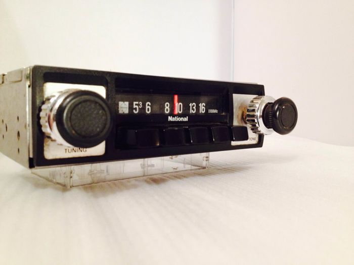 Classic National classic car radio 1960s/1970s Volkswagen/Opel/Ford