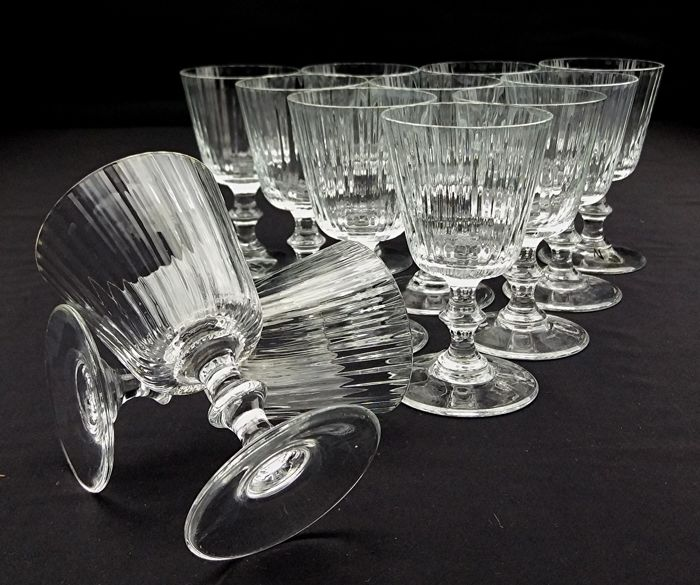 Nason Moretti - Set of twelve luxury chalices in Murano crystal