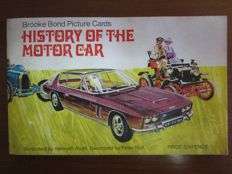 Collection album - The history of the motor car