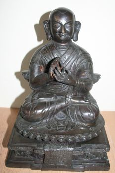 Seated Buddha - China - second half 20th century (32 cm)
