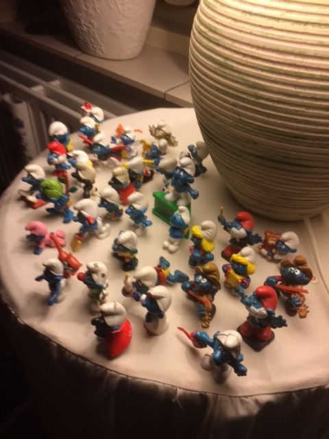 75 Smurfs - Good condition