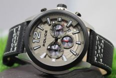Police Men's - Stainless Steel Chronograph - Designer Watch - New