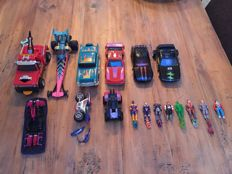 M.A.S.K. collection of 9 vehicles - Kenner Parker Toys - 1986-1988