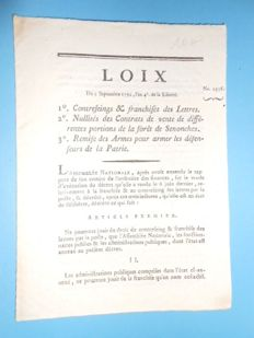 10 texts of law - c. 1791