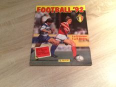 Panini - Football 92 Belgium - Complete album