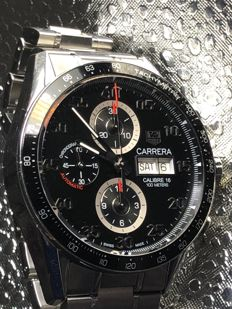 TAG Heuer - Carrera Day Date Calibre 16 Automatic Chronograph - CV2A10 - 男士 - 2011至今