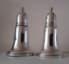 Sterling silver pepper- and salt set, Reed & Barton, USA, 20th century