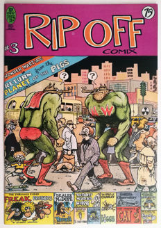 Collection Of Underground Comics - Rip Off Comix - X11 SC - (1978/1988)