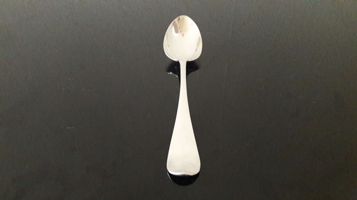 Silver table spoon, Hendrik Overhulsman, Amsterdam, 1806