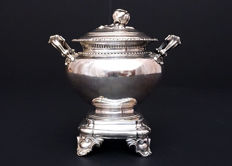 Solid silver sugar bowl, Etienne-Auguste Courtois 1834-1847, France