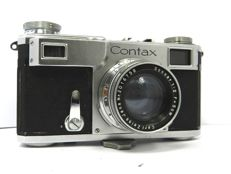 Contax II with 2/50mm SONNAR Lens