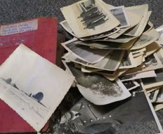 Year book for a German soldier in Norway 1941 + 48 photos (diary)