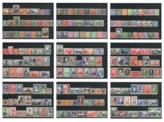 France 1940/1959 - Collection of 187 stamps, Postage and Airmail - between Yvert n° 454 and 1194
