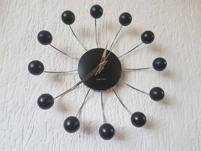 Nice Karlsson Spider Design Wall Clock   Sputnik Model