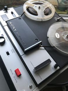 Sony TC-105 Suitcase 4 Track Reel To Reel Tape Player / Recorder