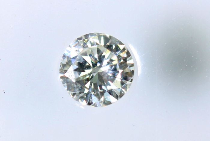 AIG Sealed Diamond - 0.12 ct - G,  VS2 -  * NO RESERVE PRICE *