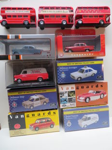 Various - Scale 1/43 - Lot with 8 British car models