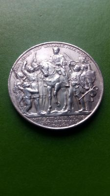 Germany, Prussia - 2 marks 1913 - silver