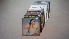 A lot of 9 Classic Decca SXL records