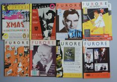 Underground; Lot with 14 issues of Furore magazine - 1976 / 1983