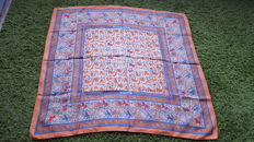 "Hermès Paris - Beautiful ""Chasse en Inde"" scarf for collectors, by Duchene, in excellent condition"