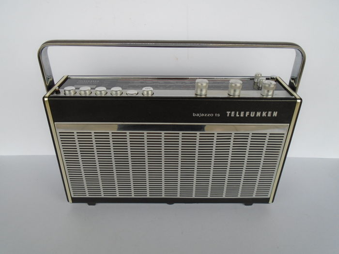 very nice radio telefunken bajazzo ts301 from germany 1970 catawiki. Black Bedroom Furniture Sets. Home Design Ideas