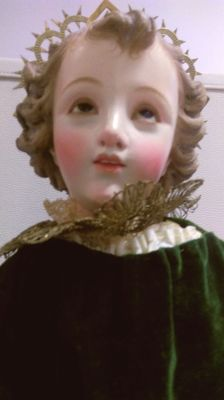 Woodcarving of Child Jesus - 19th century