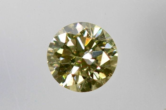 AIG Sealed  Diamant - 0.09 ct - O , VS1  - * No Reserve Price *