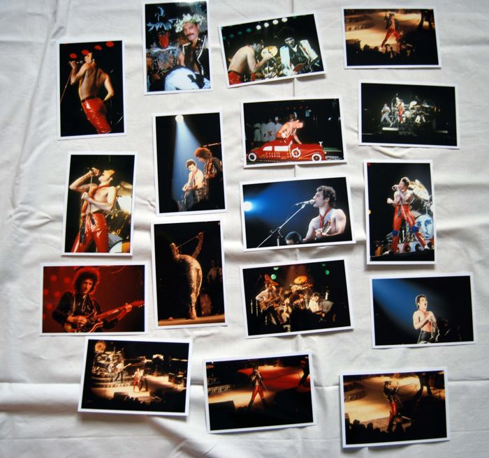 Queen Freddie Mercury a stunning set of 50 photos mostly unpublished