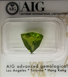 Peridot – 3.32 ct – no reserve price