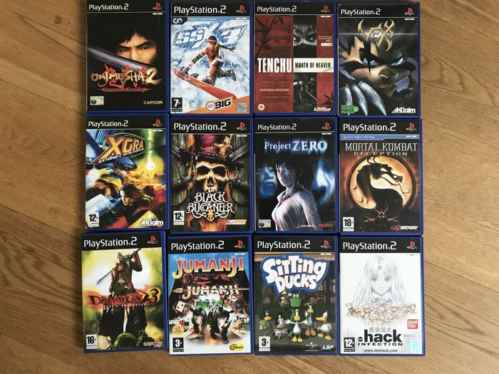 Lot of 20 Playstation 2 (PS2) Games with booklets - rare ...