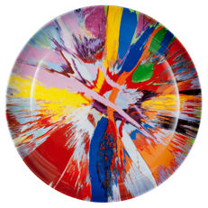 Damien Hirst - Beautiful Amore Bone China Plate
