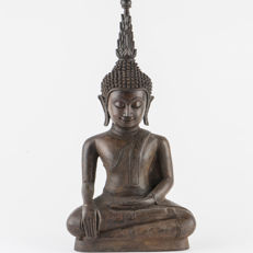 Bronze Buddha - Laos - last quarter of the 20th century (26 cm)