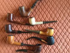 Collection of 21 pipes from around the world.