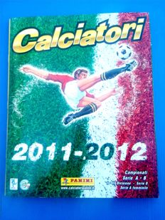 Panini - Calciatori Italy - 2011/12 collection - complete album