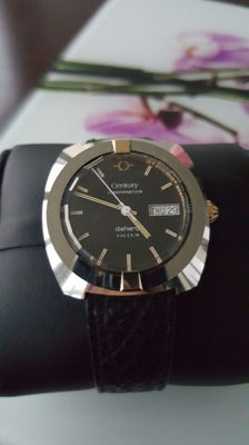 Century - A new & rare vacum watch day & date gold & steel - Unisex - 1960-1969