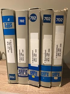 FRG collection 1962 to 2001 in SAFE albums with SF-preprinted pages
