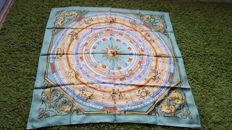 "Hermès Paris - Superb Collector's Scarf ""Astrologie"", by Façonnet in very good condition"