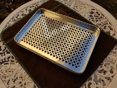 very rare openwork serving tray, Christofle brand, 1850