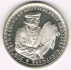 Germany, Weimar Republic - Silver Medal 1928 on 680th Anniversary of the Creation of the Cologne Cathedral